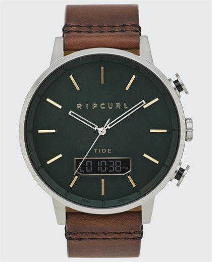 Detroit Tide Digital Leather Watch
