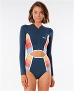 Golden State Long Sleeve Cheeky Swimsuit