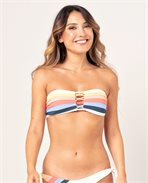 Golden State Bandeau Bikini Top