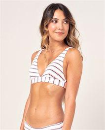 Golden State Halter Bikini Top