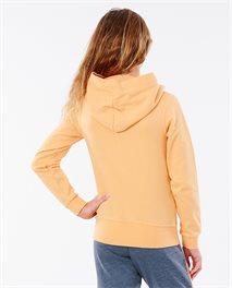 Camisola com capuz Golden State Girl