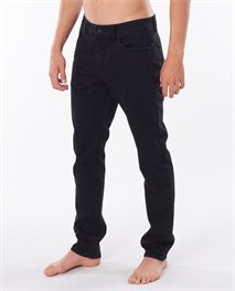 Slim Black Denim