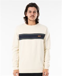 Surf Revival Stripe  Crew