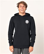 Os Hooded Pop Over Print Fleece