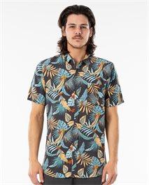 Camicia a maniche corte Hawaiian