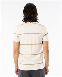 T-shirt Saltwater Culture Sundown Stripe