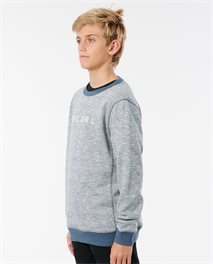 Jersey de cuello redondo Boxed Stripe Boy