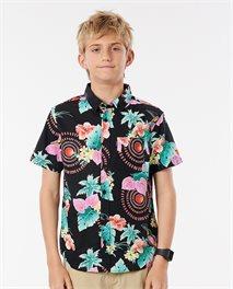 Tropical Short Sleece Kurzarmhemd für Jungen