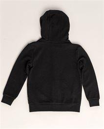 Multi Print Hood Fleece Grom