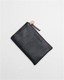 Porte-monnaie en cuir Mini RFID