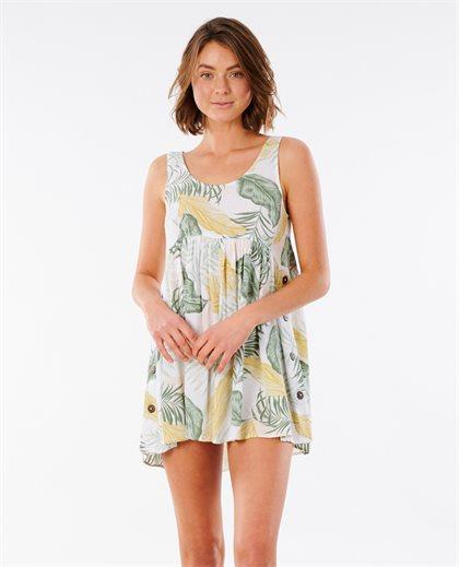 Coastal Palm Dress