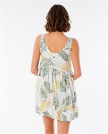 Coastal Palm Dress