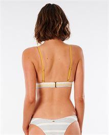 Parte de arriba de bikini Salty Daze Banded Triangle
