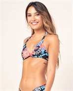 Still In Paradise Halter Bikini Top