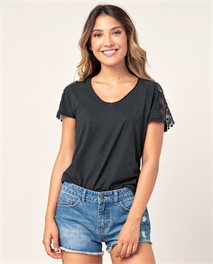Lovely V Neck Tee
