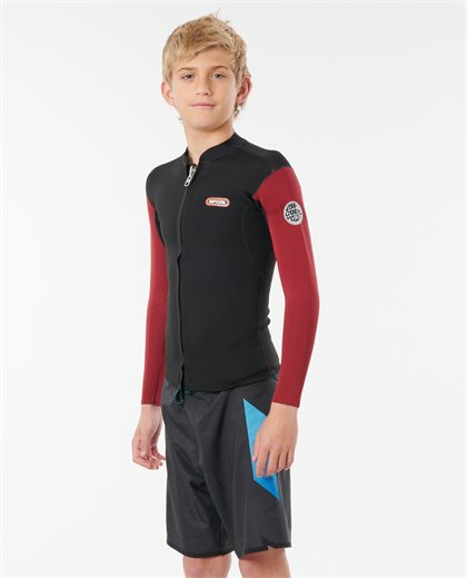 Boys Dawn Patrol Long Sleeve Surf Jacket