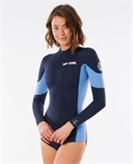 G Bomb 1mm Long Sleeve Back Zip Springsuit