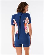Women Dawn Patrol 2/2 Short Sleeve Springsuit