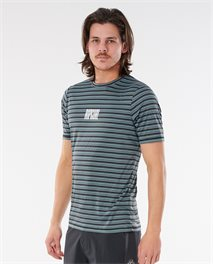 T-shirt Mind Wave Stripe Short Sleeve UV