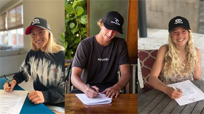 Rip Curl Re-Signs Next Generation American Talent: Brooks, Spencer, Colapinto