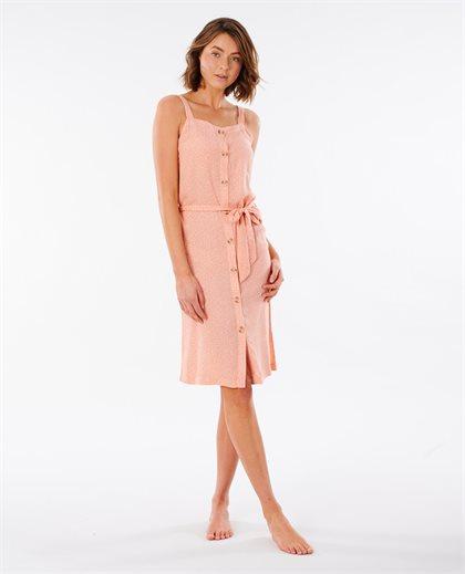 Tallows Spot Midi Dress