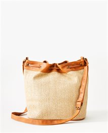 Paradise Palms Bucket Bag