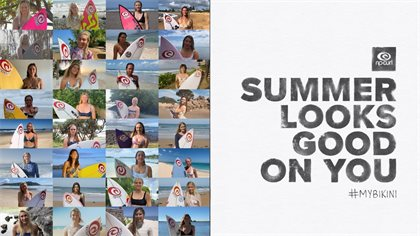 The Rip Curl Women's Team Presents: Summer Looks Good On You.